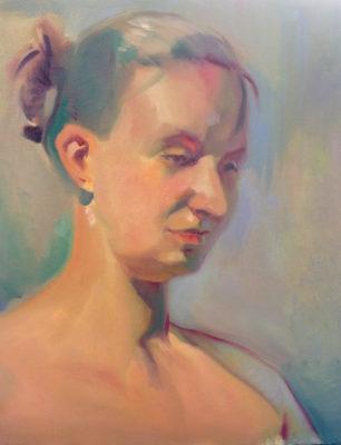 Petr Mucha - Portrét dívky