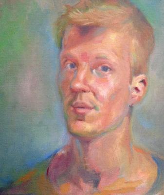 Petr Mucha - autoportrét