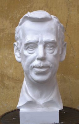 Petr Mucha - sculpture - Vácav Havel