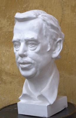 Petr Mucha - sculpture - Vácav Havel