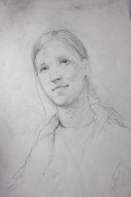 portrét sestry